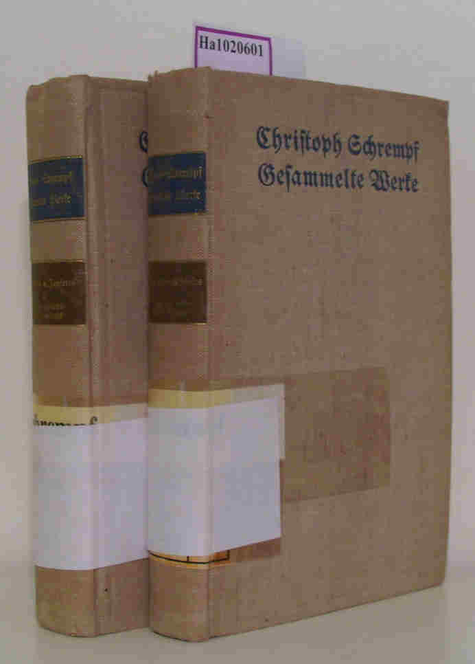 Diesseits und Jenseits. 2 Bände   I: Noch diesseits - schon jenseits. II: Schon jenseits - noch diesseits. (=Gesammelte Werke  Band 7  8).