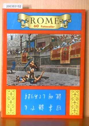 Rome - 60 Fotocolor Souvenir