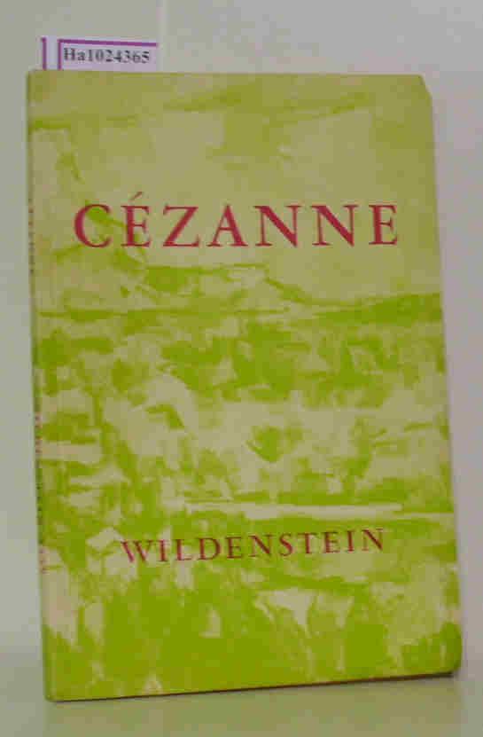 Cezanne. [Exhibition New York 1959].