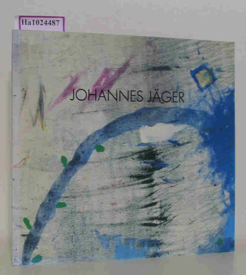 Hanna Jäger. Bilder, Collagen. / Johannes Jäger. Aquarelle auf Leinwand. [ Katalog zur Ausstellung/ Kiel 1987] . 2 Künster in einem Katalog.