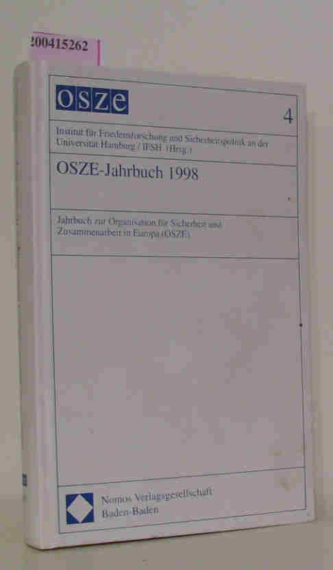 OSZE-Jahrbuch 1998