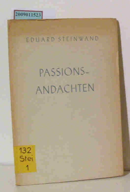 Passionsandachten