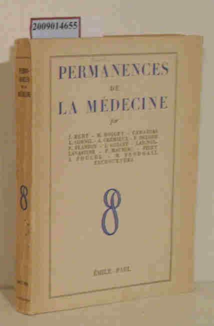 Prmanences de la Medecine