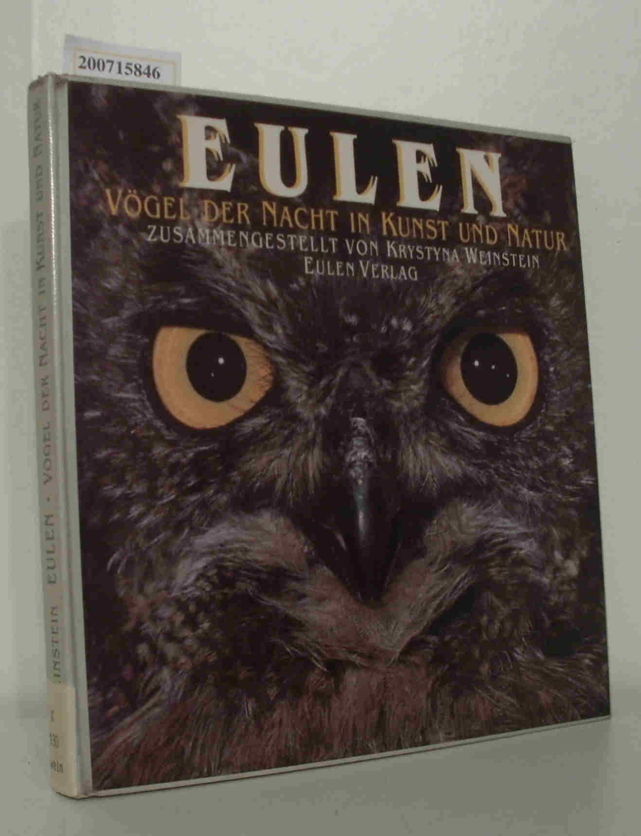 Eulen Vögel d. Nacht in Kunst u. Natur