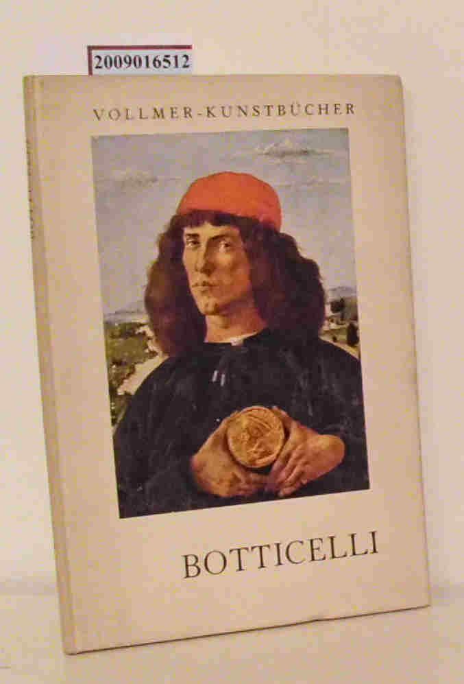 Botticelli Sandro Botticelli. Eingel. von Alfred Stange
