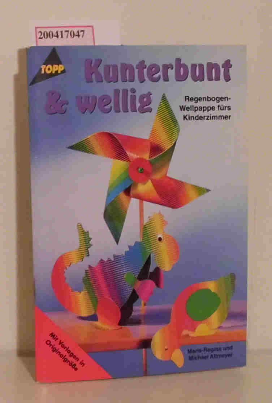 Kunterbunt & wellig Regenbogen-Wellpappe fürs Kinderzimmer   [mit Vorlagen in Originalgröße]
