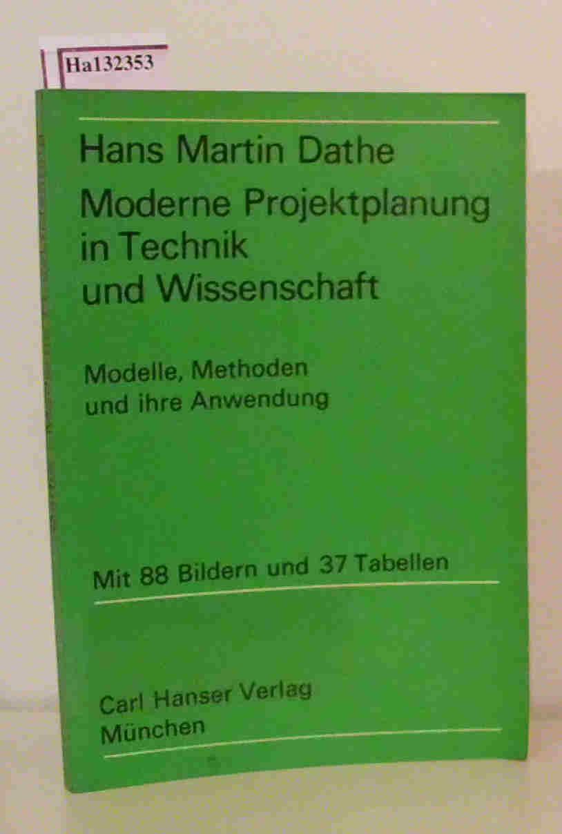 Moderne Projektplanung in Technik und Wissenschaft.