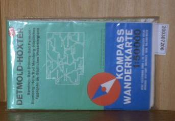 Kompass Wanderkarte 1: 50.000 Detmold Höxter / Nummer 784