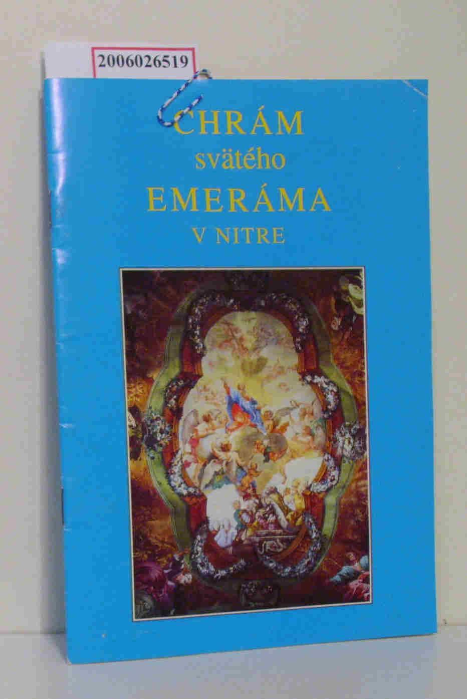 Chram sväteho Emerama v Nitre - Nitra - die Burg, Bischofskirche des hl. Emeram