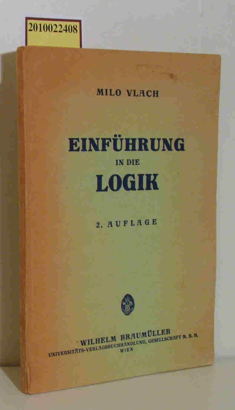 Einführung in die Logik 2. Auflage