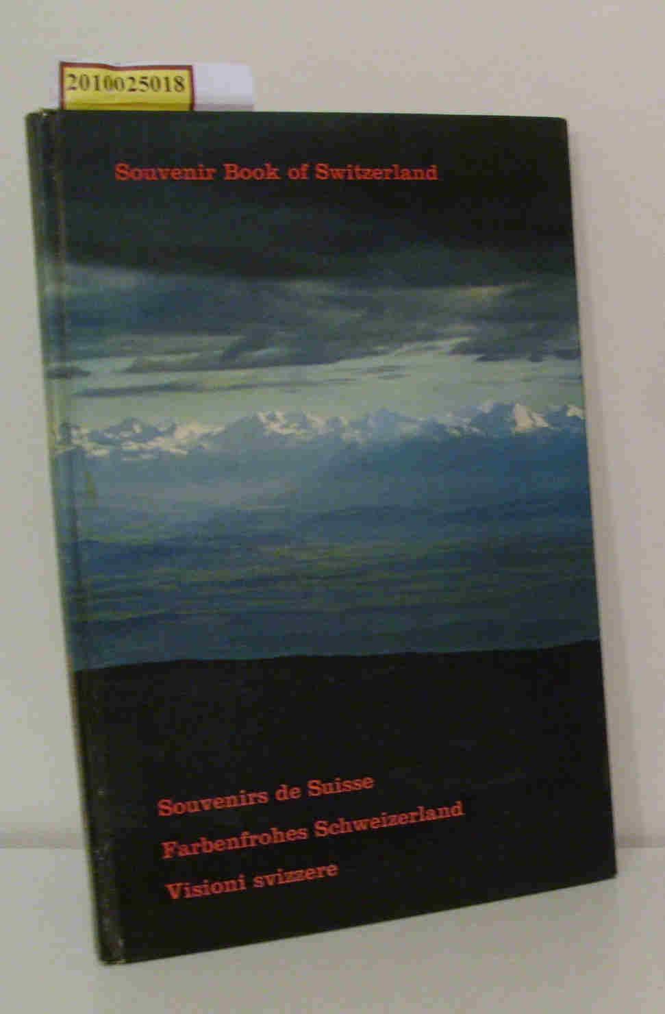Souvenir Book of Switzerland