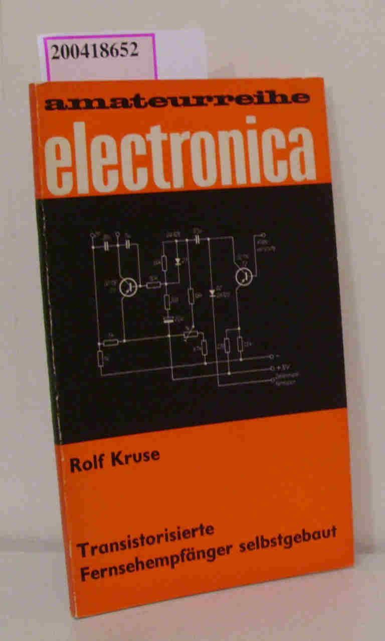 Transistorisierte Fernsehempfänger, selbstgebaut electronica 98