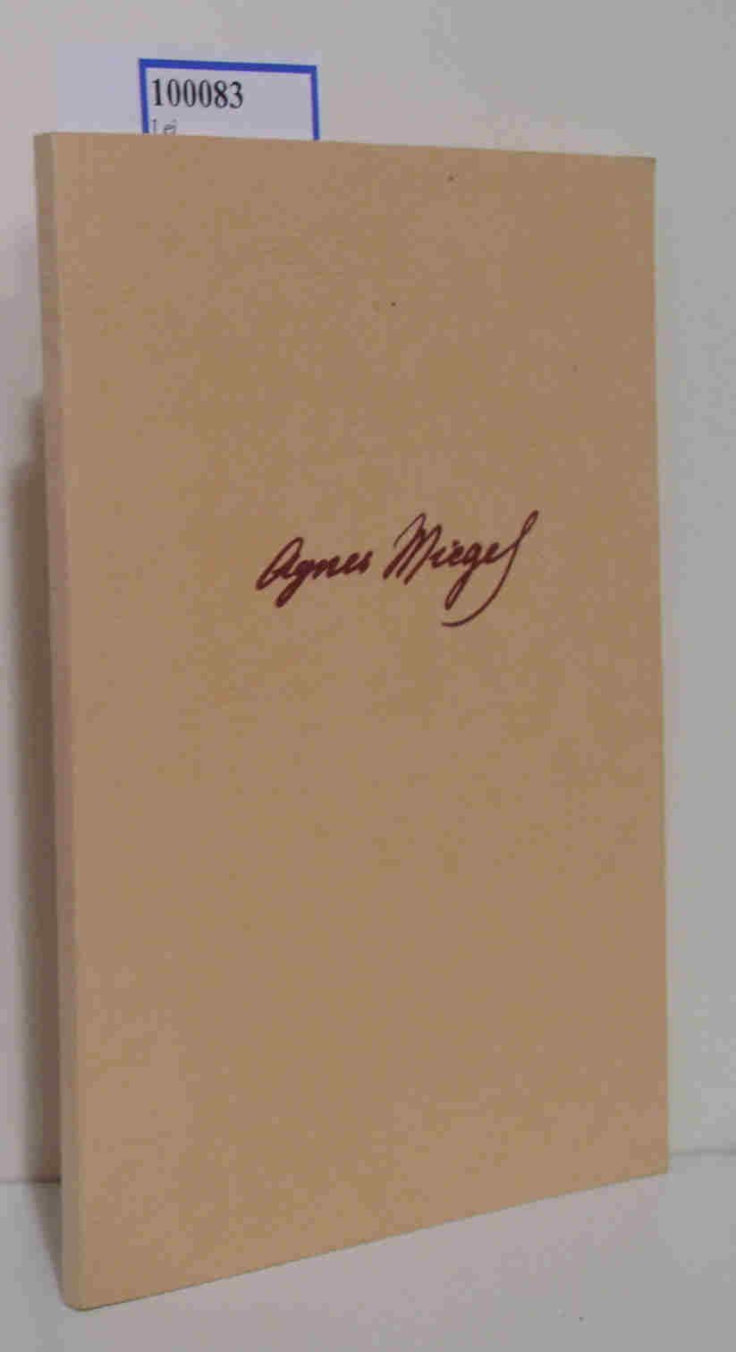 Agnes Miegel Stimmen der Freunde zum 60. Geburtstage der Dichterin, 9. März 1939