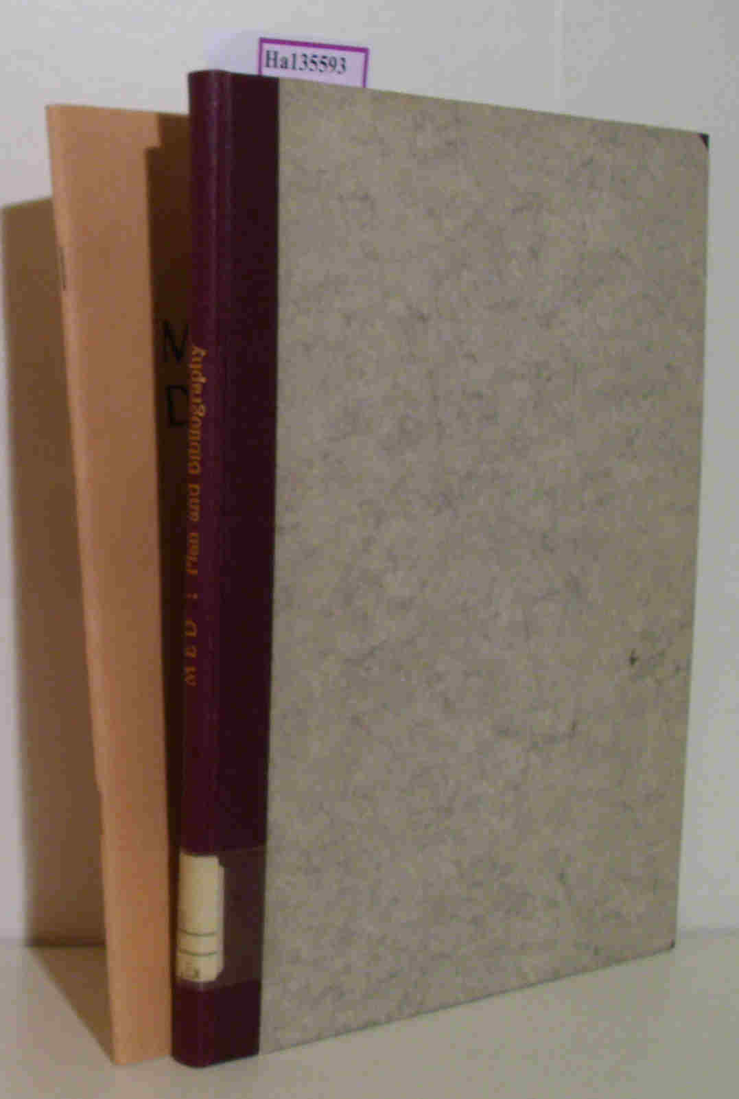 Middle English Dictionary. 2 vols. Vol.1: Plan and Bibliography. Vol.2: Plan and Bibliography, Supplement I.