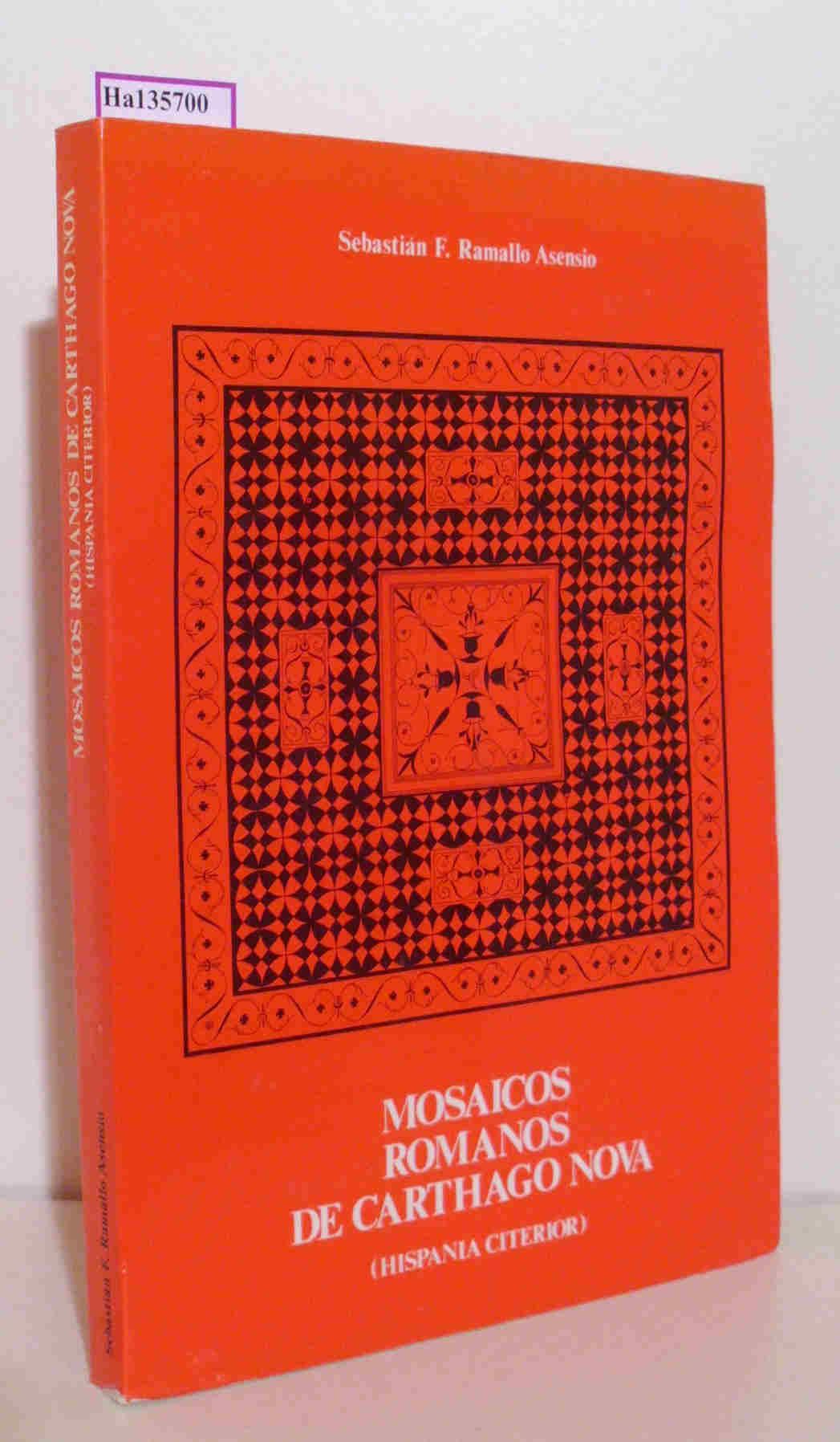 Mosaicos Romanos de Carthago  Nova( Hispania Citerior) .
