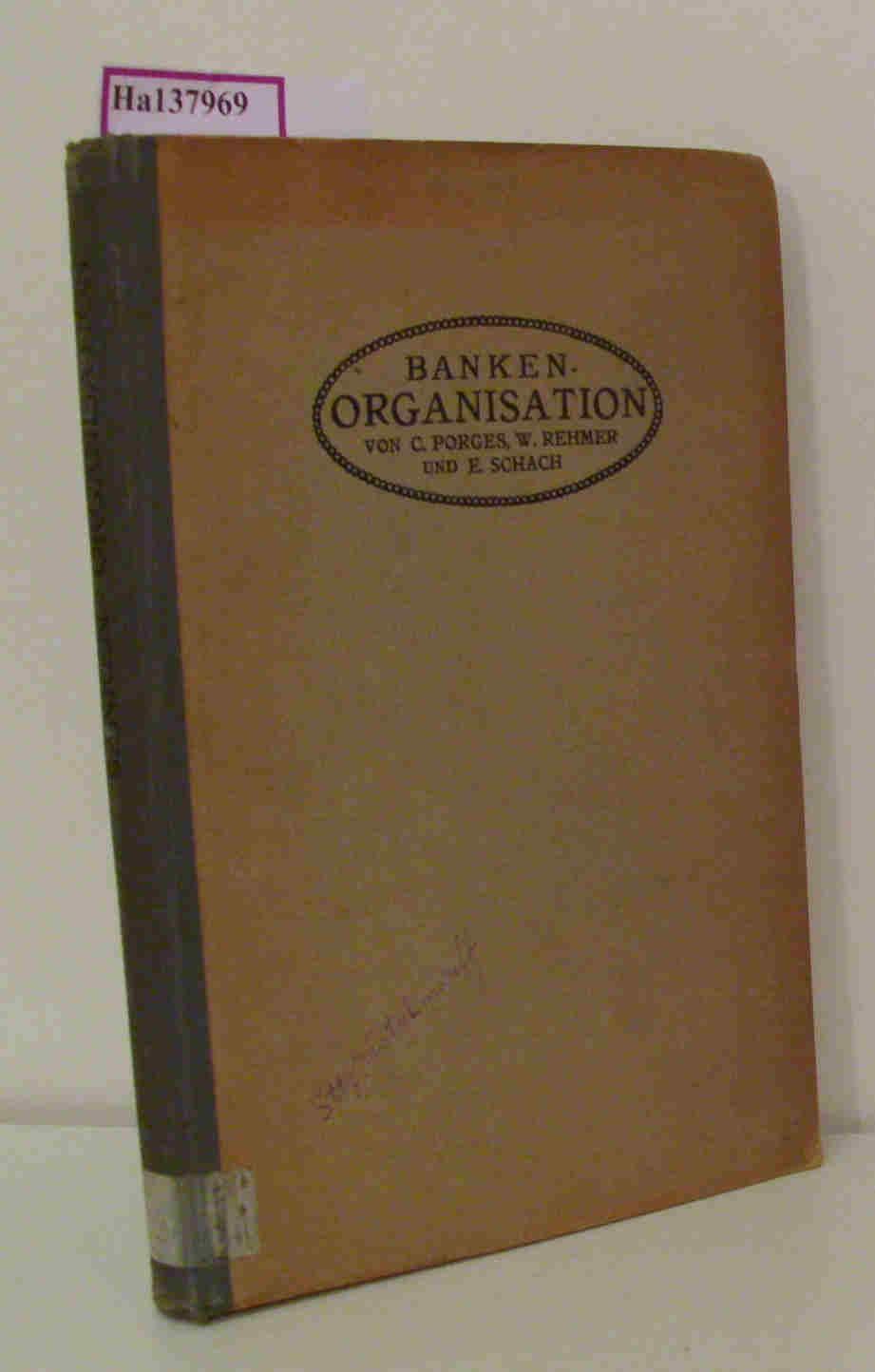 Banken-Organisation. I. Organisation einer Grossbank. II. Organisation einer Volksbank. II. Buchhalterische Einrichtungen in einem mittleren Bankenbetriebe. 3