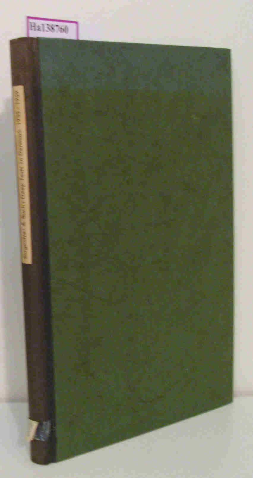 Deep Tests in Denmark. 1935-1959.