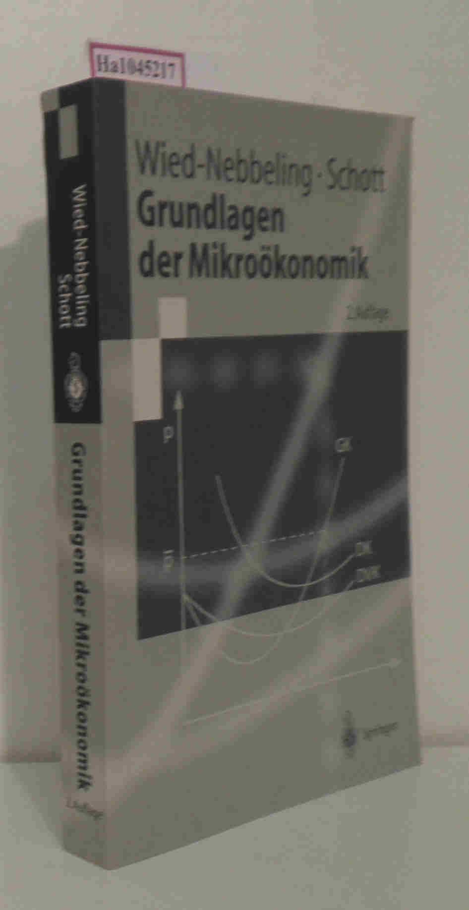 Grundlagen der Mikroökonomik. 2