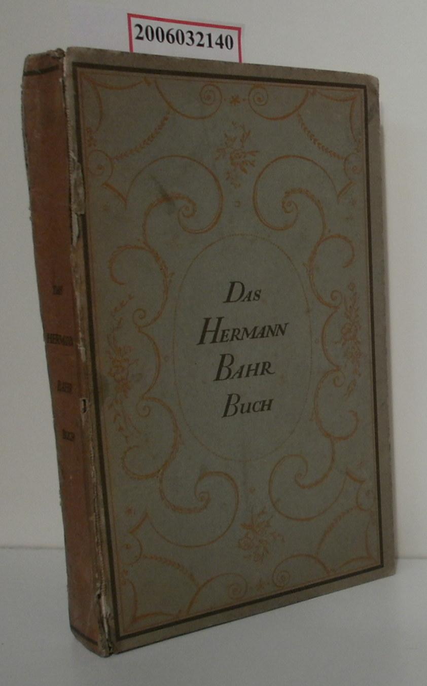 Das Hermann-Bahr-Buch zum 19. Juli 1913 herausgegeben
