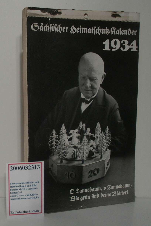 Sächsischer Heimatschutz-Kalender 1934