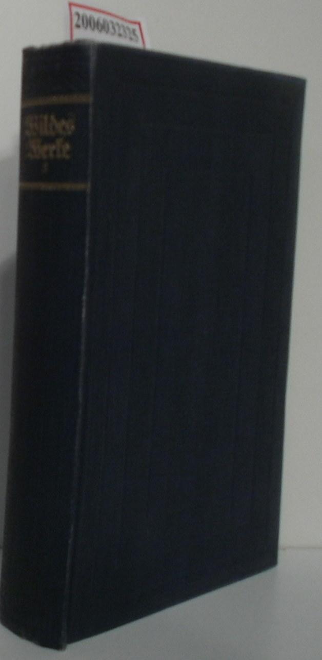 Oscar Wildes Werke in fünf Bänden - zweiter Band Lady Windermeres Fächer - Eine Frau ohne Bedeutung - Ein idealer Gatte - Bunbury oder die Bedeutung des Ernstseins