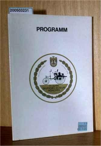 5 Jahre Deutsches Museum Offizielles Programm