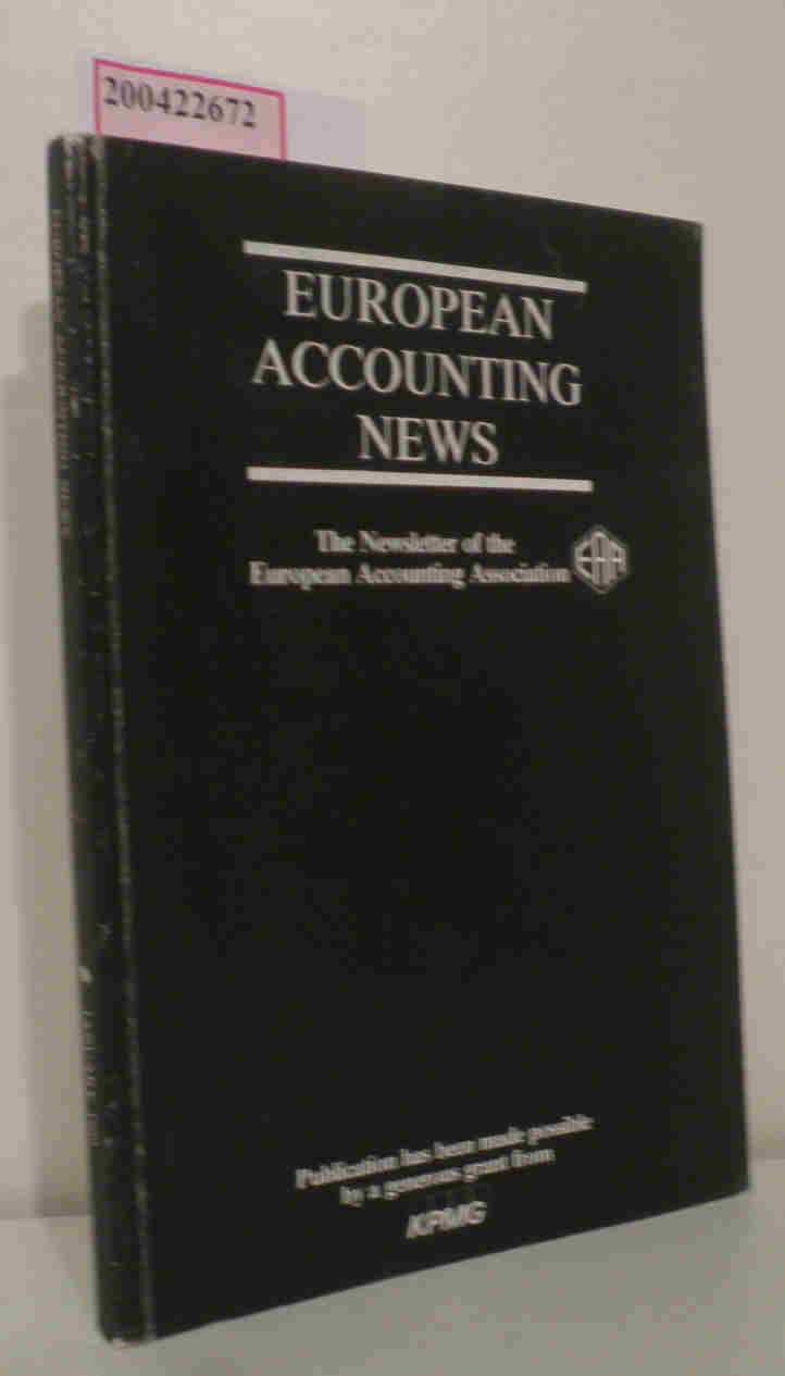 European Accounting News The Newsletter of the European Accounting Association