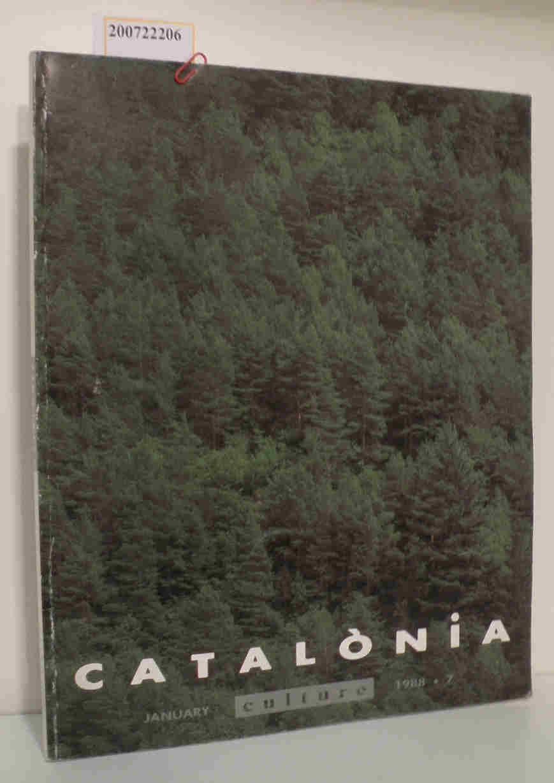 catalonia Culture january/1988