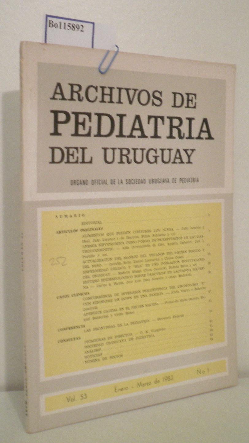 Archivos de Pediatria del Uruguay Vol 53, No 1