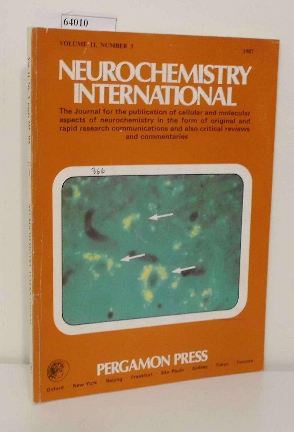 Neurochemistry International Vol. 11, No. 3