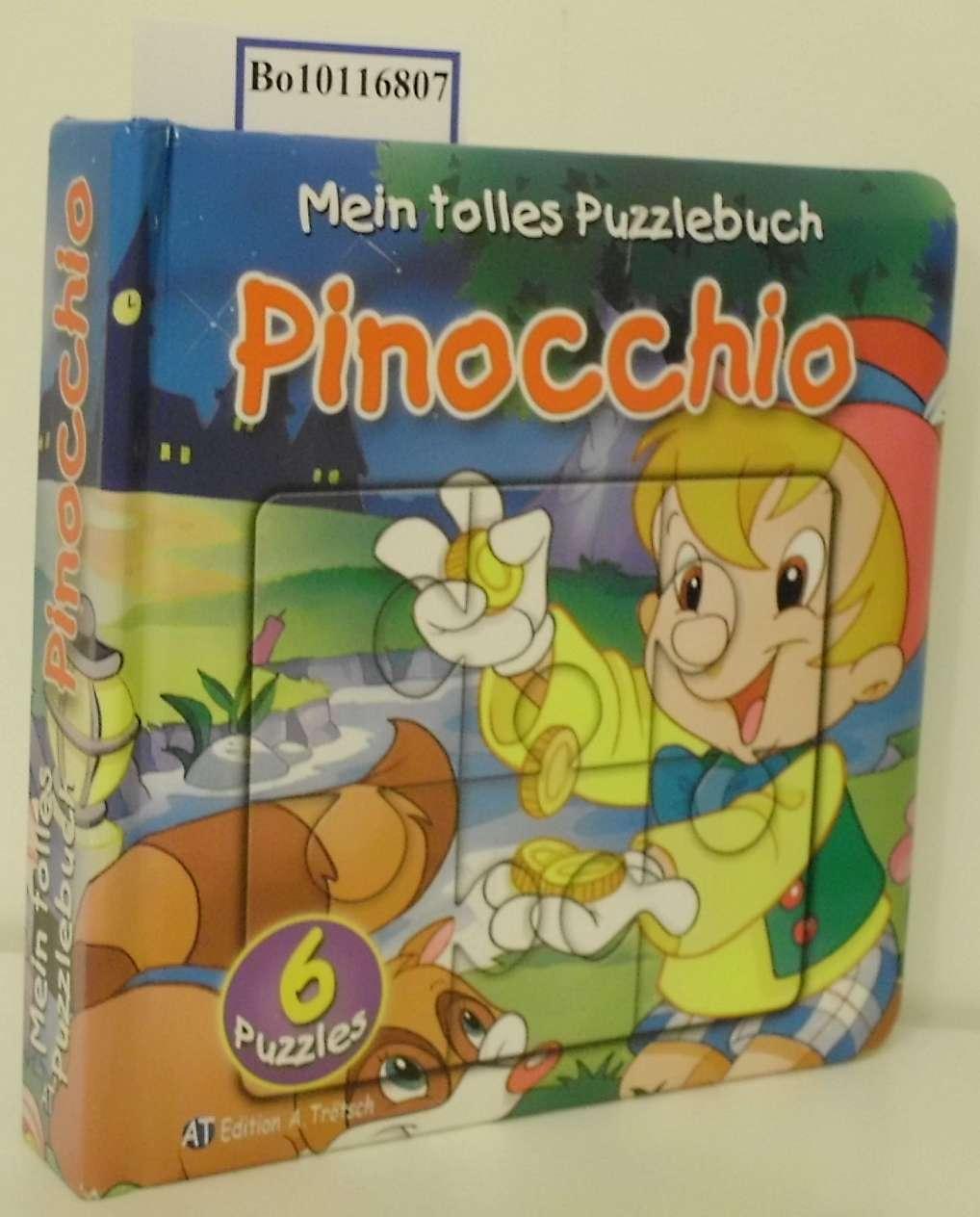 Mein tolles Puzzlebuch Pinocchio 6 Puzzles