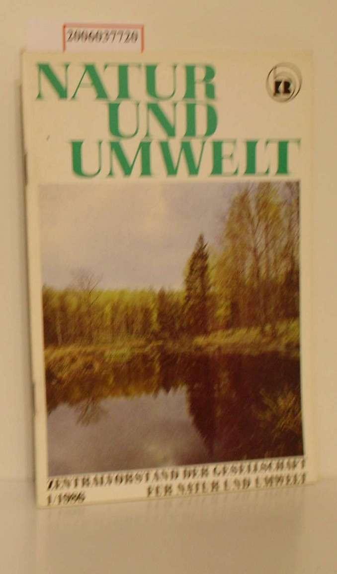 Natur und Umwelt 1/1986