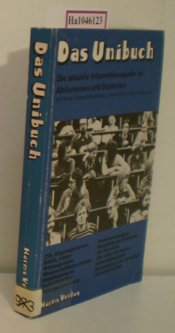 Das Unibuch. Die aktuelle Informationsquelle für Abiturienten und Studenten.