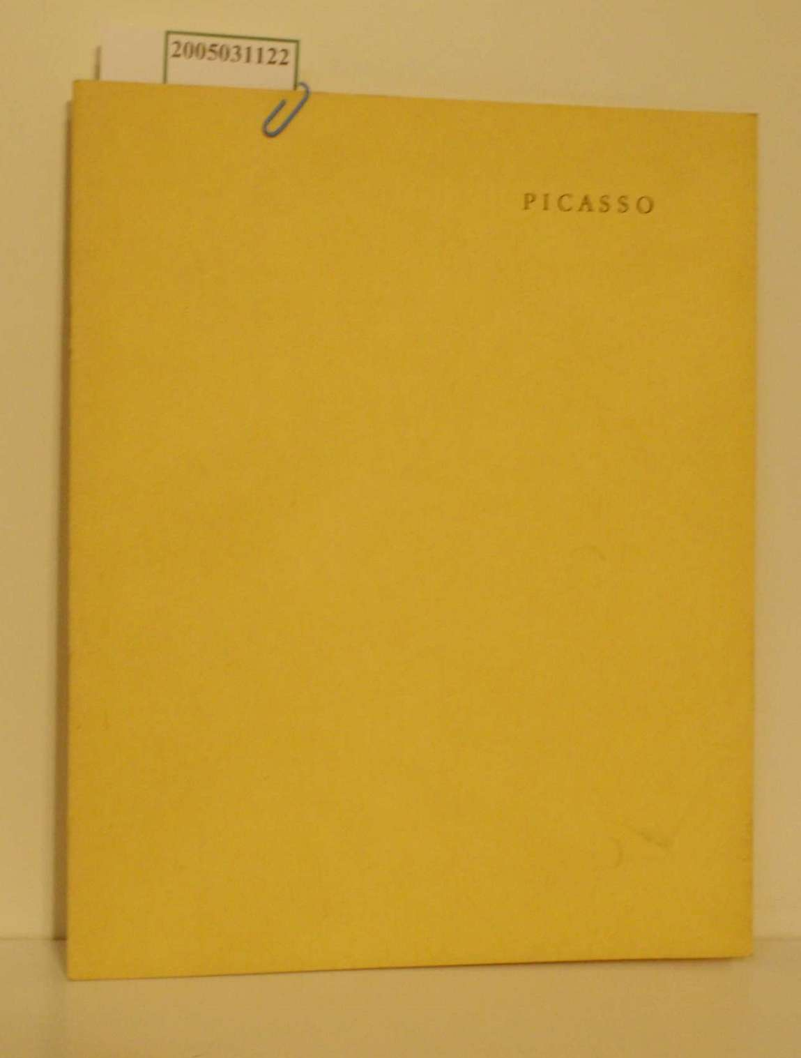 Picasso Aus der Sammlung Ludwig Aachen