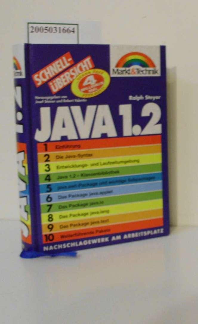 Java 1.2 / Ralph Steyer / Schnellübersicht