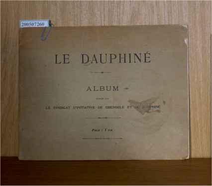 Le Dauphine album publie par le SYNDICAT D