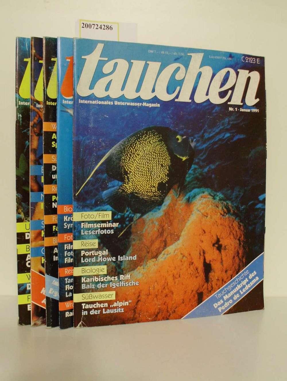Tauchen : internationales Unterwasser-Magazin Heft 1-5