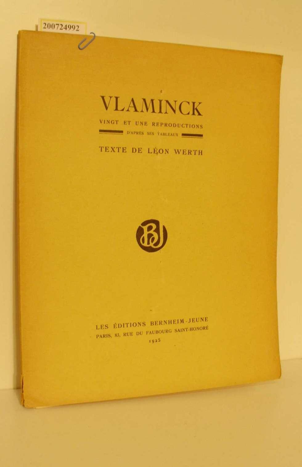 Vlaminck Vingt et une Reproductions