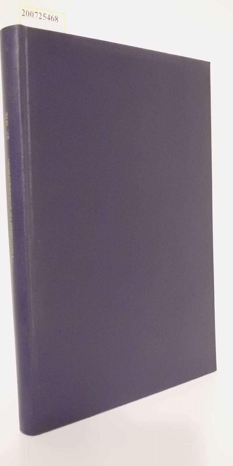 Nachrichten für Dokumentation herausgegeben von der Deutschen Gesellschaft für Dokumentation e. V. , 27. Jahrgang 1976 Zeitschrift für Information und Dokumentation