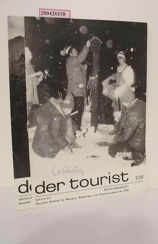 der tourist 1/81 und 2/81. Mitteilungsblatt