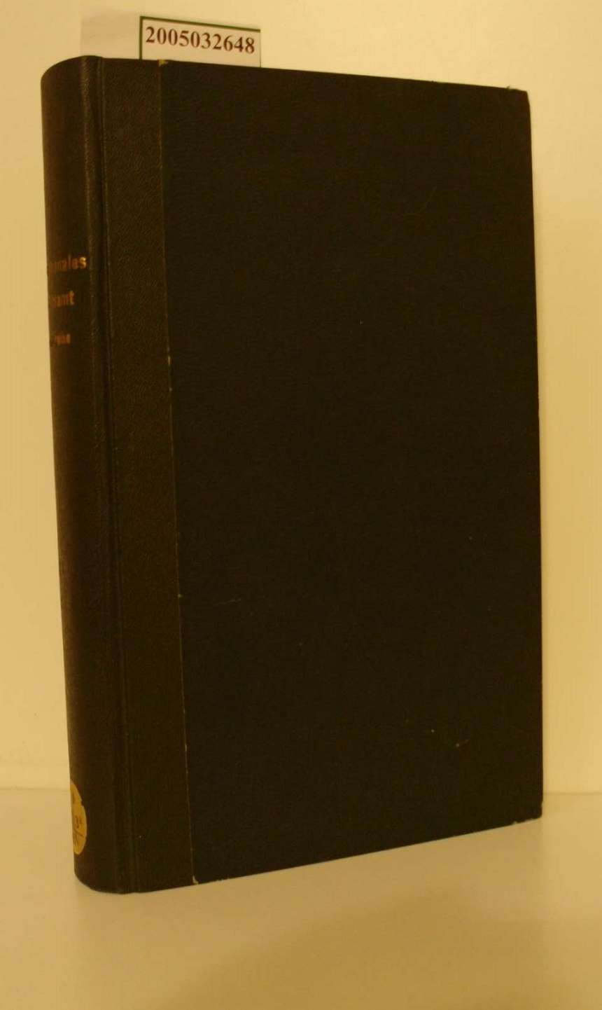 Internationales Arbeitsamt / Gesetzreihe Band VI - 1925 / Teil I International und Alb. (Albanien) - GB. (Grossbritanien)