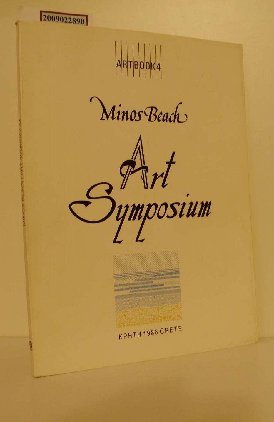 Artbook 4 Minos Beach Art Symposium 3000 Exemplare