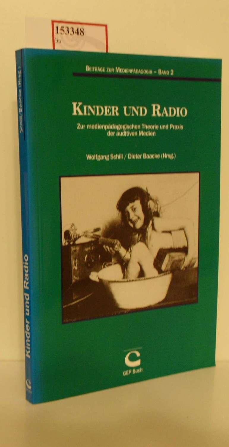 Kinder und Radio. Zur medienpädagogischen Theorie und Praxis der auditiven Medien. ( = Beiträge zur Medienpädagogik, 2/ Didaktische Materialien, 5/ Schriften zur Medienpädagogik, 23) .