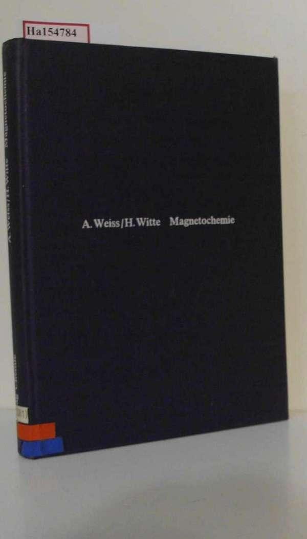 Magnetochemie. Grundlagen und Anwendungen.