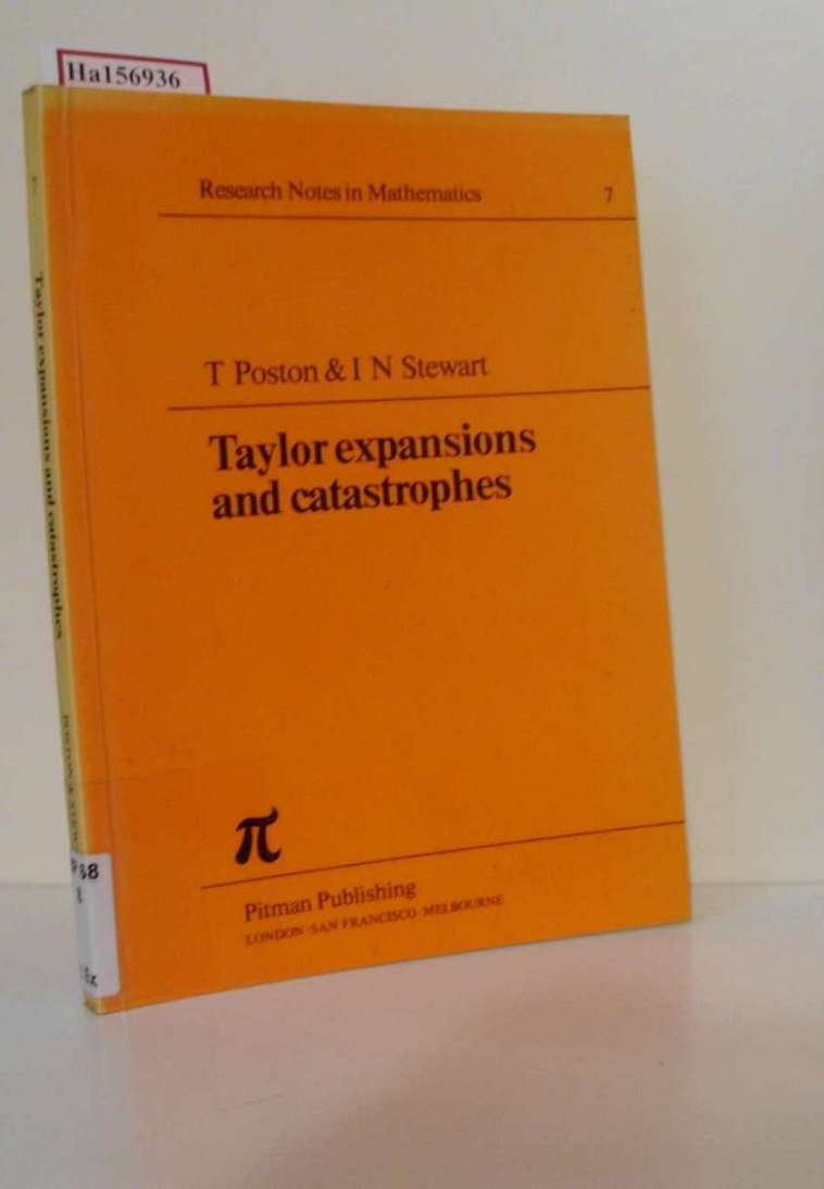 Taylor expansions and catastrophes. ( = Research Notes in Mathematics, 7) .