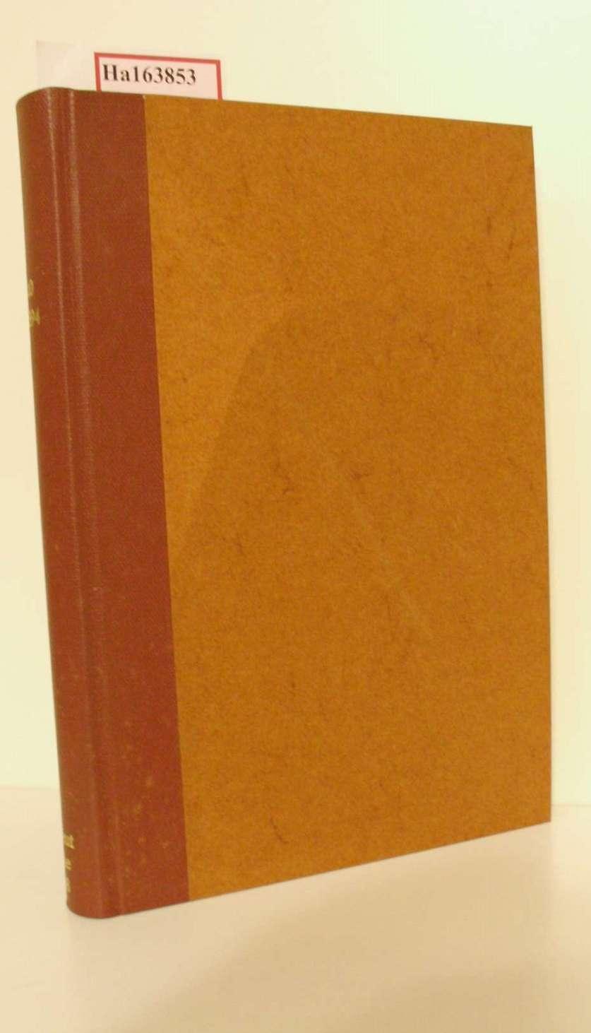 Forstpolitik, Jagd- und Fischereipolitik. ( = Hand- und Lehrbuch der Staatswissenschaften in selbständigen Bänden/ I. Abt. : Volkswirtschaftslehre, Bd. 10) .