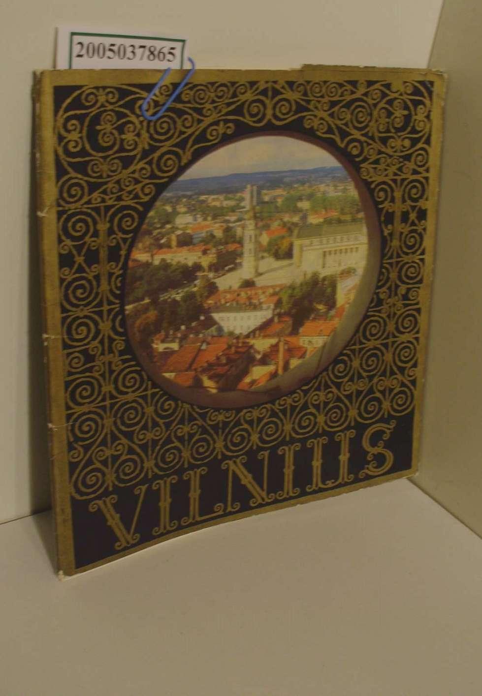 Vilnius / 15 atviruku / 15 Blätter in einer Mappe mit Sehenswürdigkeiten von Vilnius