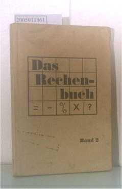 Das Rechenbuch Band 2 - Ausgabe für deutsche Kriegsgefangene