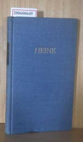 Heines Werke in fünf Bänden  dritter Band,