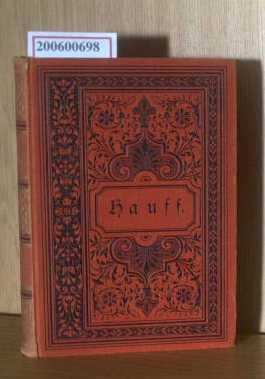 Wilhelm Hauffs sämtliche Werke  dritter Band,